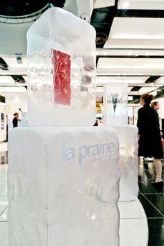 La Prairie Pop-up   Ice Crystal Collection, Heathrow by Millington Associates…