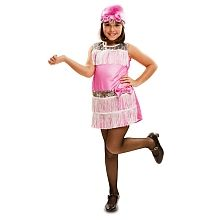 Disfraz Infantil Charleston Rosa
