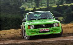 """Marco Koch im """"Green Monster"""" Opel Kadett GTE CQP beim Eifel Rallye Festival Daun"""