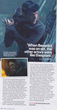 Benedict Cumberbatch - Star Trek Into Darkness