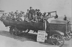 'PAVILION TOURS FROM PENZANCE TO LAND'S END' (1900s) | Cornwall     ✫ღ⊰n
