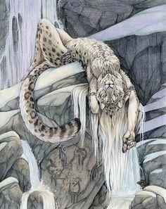 leopard shifter (snow leopard)