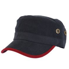 Hat spring and summer fashion breathable male women's baseball cap cadet cap sunbonnet military hat $20.43
