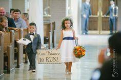 Cute Wedding Ceremony Idea