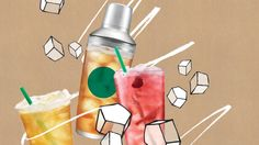 Check out Starbucks menu and get nutritional information about each menu item. Starbucks Menu, Starbucks Coffee, Drink Menu, Coffee Company, Menu Items, Iced Tea, Lava Lamp, Water Bottle, Ads