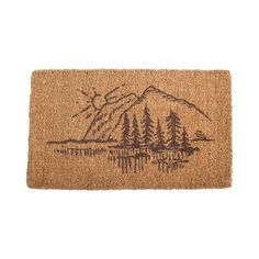 Wilderness Door Mat