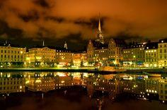 Gamla Stan (Old Town) in Stockholm, Sweden