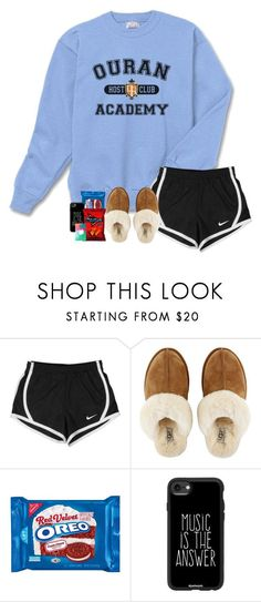 """Starting today, you are a host"" by labures on Polyvore featuring NIKE, UGG and Casetify"