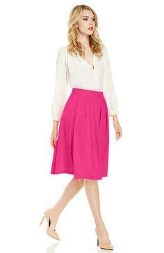 beautiful neon pink skirt