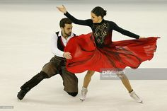 Sara Hurtado and Adria Diaz of Spain compete in the Ice Dance Short Dance event on day one of the 2015 ISU World Figure Skating Championships at Shanghai Oriental Sports Center on March 25, 2015 in Shanghai, China.