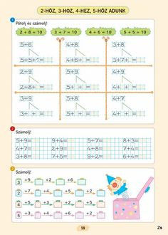 Arhiv albumov Math Games, First Grade, Worksheets, Classroom, Teaching, Activities, School, Archive, Math Lessons