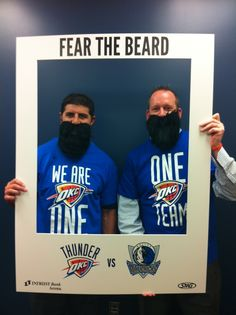 Wichita Thunder Owner & General Manager are Thundered Up for the Oklahoma City Thunder October 24. Fear The Beard.