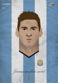 Messi by Samurai Gustav