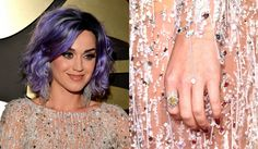 Katy Perry Wearing Artistic Colour Gloss' Goddess available at Louella Belle #KatyPerry #ArtisticColourGloss #GelPolish #Celebrity #Nails #Manicure #RoseGold #LouellaBelle
