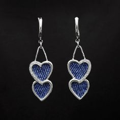 Denim Earrings | Denim...jewelry that is... : Celebrities in Designer Jeans from Denim ...