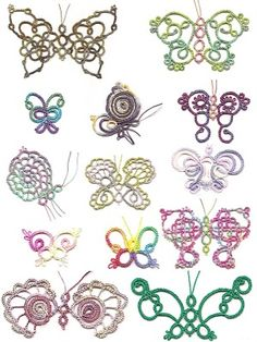 Tatted butterflies!