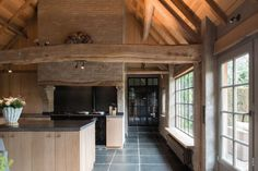 Sweet home sweet Barn Kitchen, Rustic Kitchen, Modern Farmhouse Kitchens, Home Kitchens, Beautiful Kitchens, Beautiful Homes, Cabana, Kitchen Interior, Home And Living