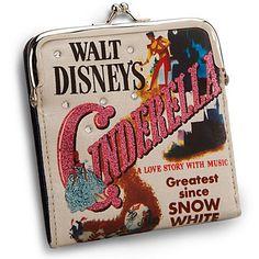 cinderella | Classic Cinderella Wallet with Coin Purse | Bags & Totes | Disney ...