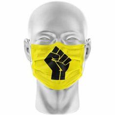 Fist Black Lives Matter Face Mask - Fist Black Lives Matter #masks #eye #masks (ebay link) Lip Logo, Logo Face, Fist Pump, Black Mask, Cover Design, Link, Ebay, Cover Art