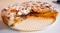 Sbriciolata di pandoro crema e Nutella