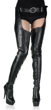 Patent Leather 6 14 High Heels Stretch Crotch Thigh High