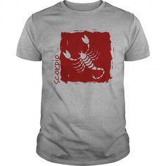 Scorpio Zodiac Star Sign Scorpion Silhouette T Shirt Scorpio Star, Scorpio Zodiac, Taurus, Zodiac Star Signs, Scorpion, Silhouette, Mens Tops, T Shirt, Scorpio