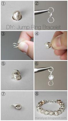 Pretty pearl earrings! Diy.   13 Simple Ways to Have DIY Accessories   Pretty Designs