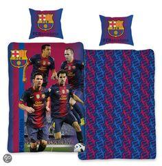 Dekbedovertrek - FC Barcelona - Messi - 140x200