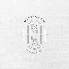 Logo design for Mistiquem⠀ .⠀ Mistiquem refers to a range of traditional therapy that uses essential oils with the aim of improving a… Help Logo, Inspiration Logo Design, One Logo, Article Design, Social Media Branding, Design Agency, Logo Branding, Essential Oils, Pandora