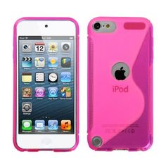 For Apple iPod touch generation) Hot Pink (S Shape) Candy Skin Case Cover Ipod Touch Cases, Bling Phone Cases, Ipod Touch 6th, Ipod Cases, Ipod Touch 5th Generation, Skin Case, Samsung Galaxy S5, Protective Cases, Hot Pink