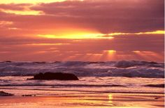 God Rays at Sunset - Photograph at BetterPhoto.com