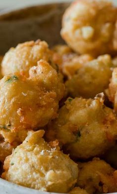 Shrimp Fritters Source by modisteme Shrimp Recipes For Dinner, Shrimp Appetizers, Shrimp Dishes, Fish Dishes, Fish Recipes, Seafood Recipes, Asian Recipes, Appetizer Recipes, Cooking Recipes