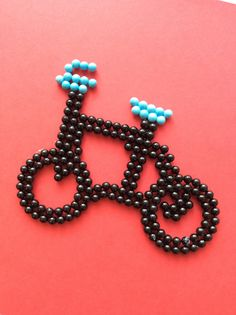 Why not make a bike out of #Aquabeads?