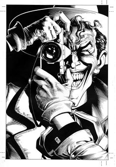 The Killing Joke cover by Brian Bolland