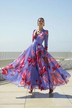Beautiful Dresses, Nice Dresses, Girls Dresses, Maxi Dresses, Long Chiffon Skirt, Designer Gowns, Spring Dresses, Fashion Week, The Dress