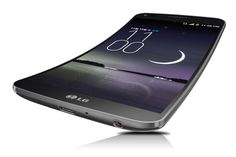 LG's giant curved smartphone is coming to three U.S. carriers. LG G Flex.