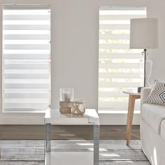 White Sheer Shade/Sheer Shades/Roller/Shades/Windows|Bouclair.com