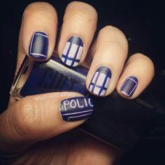 Dr who tardis nail art makeup and nails pinterest tardis tardis nail art by itsmayranelson tardis doctorwho mayrasnerdynails nailart prinsesfo Choice Image