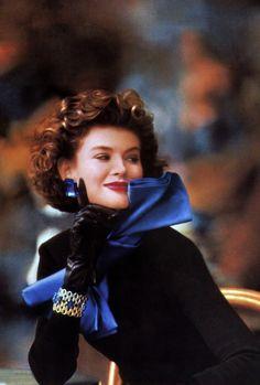 Yves Saint Laurent, American Vogue, September 1989.