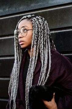 Braided Hairstyles For Black Women Cornrows, Braids For Black Women, African Braids Hairstyles, Box Braids Hairstyles, Box Braid Hair, Crochet Braids Marley Hair, Colored Braids, Blonde Braids, Natural Hair Braids