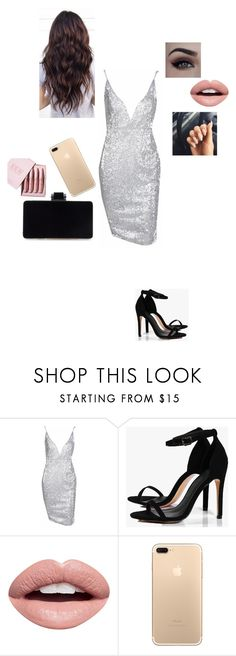 """My birthday party!!"" by rubycrocha ❤ liked on Polyvore featuring Boohoo, Nevermind and Kylie Cosmetics"