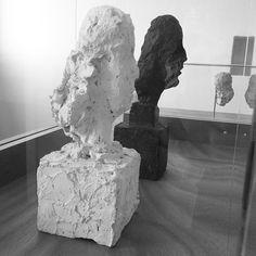 Original sculptures by Alberto Giacometti of the patron Marie Laure de Noailles (1946).