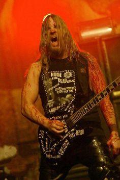 Jeff Hanneman of Slayer.