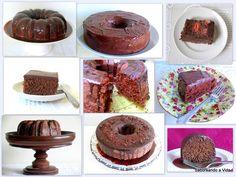 saboreando a vida: Bolo de Chocolate Super Fácil e Delicioso!