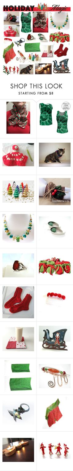 CIJ Holiday Magic by belladonnasjoy on Polyvore featuring BMW, Nintendo, Hostess, modern, rustic and vintage