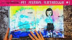 Take a tour of this completed art journal. The artwork in this journal was created chronologically over the course of 2015-2018  The progression of my artwork over the last 3 years is really interesting and you can really see how I'm moving towards my own style more and more towards the end.   The journal is a Strathmore mixed media journal with a soft cover. I love this journal for its format and paper the only downside is that it doesn't open flat.   Thank you for watching! If you enjoyed…