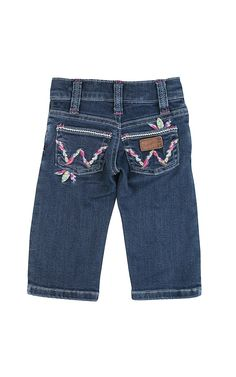 Wrangler All Around Baby Girl's Multicolor Feather