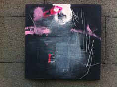 Acrylique abstrait peinture originale sur toile par CristinaBStudio, $120,00