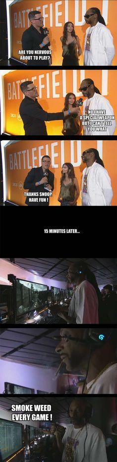 Snoop Dogg's secret weapon