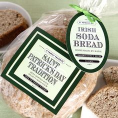 irish soda bread - a saint patrick's day tradition! This is actually a site for cool labels.